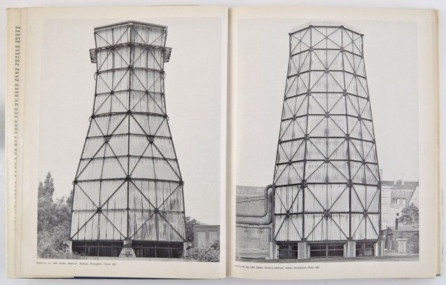 [PHOTOGRAPHY]  BECHER, BERNHARD and HILLER. Anonyme Skulturen. A typology of technical constructions.