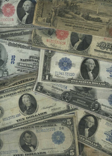 United States Large Size Bank Notes