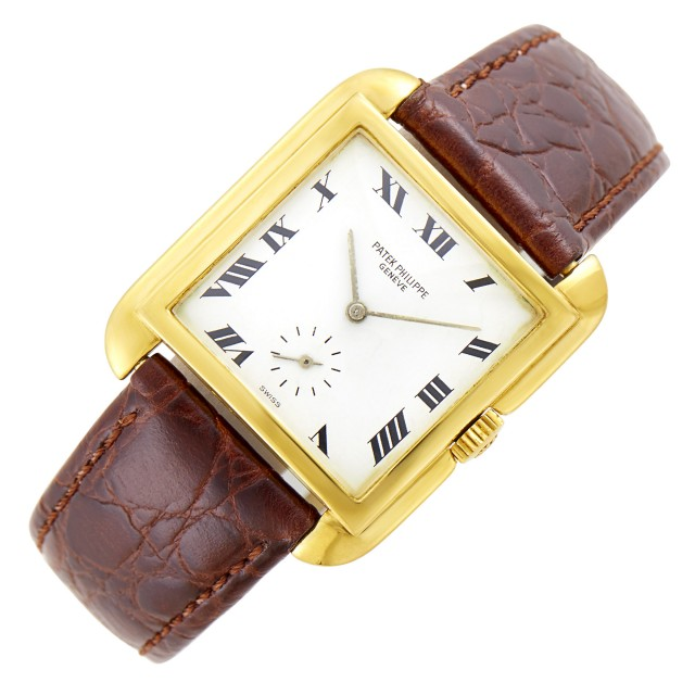 Gentleman's Patek Philippe Gold 'Cioccolatone' Wristwatch, Ref. 2486