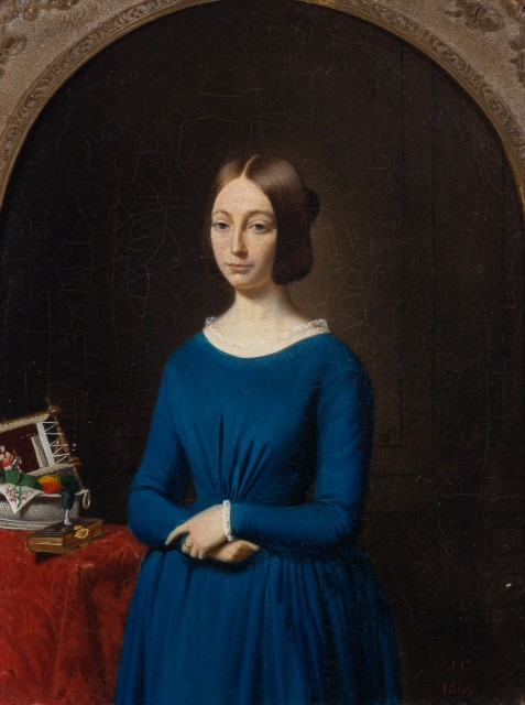 European School, 19th Century Portrait