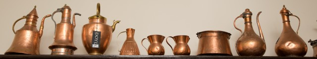 Miscellaneous Group of Copper Kitchenware