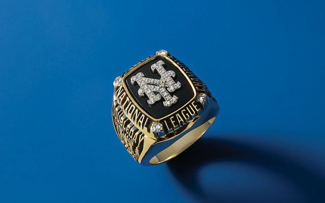 New York Mets 2000 National League Championship Ring - Lot 57
