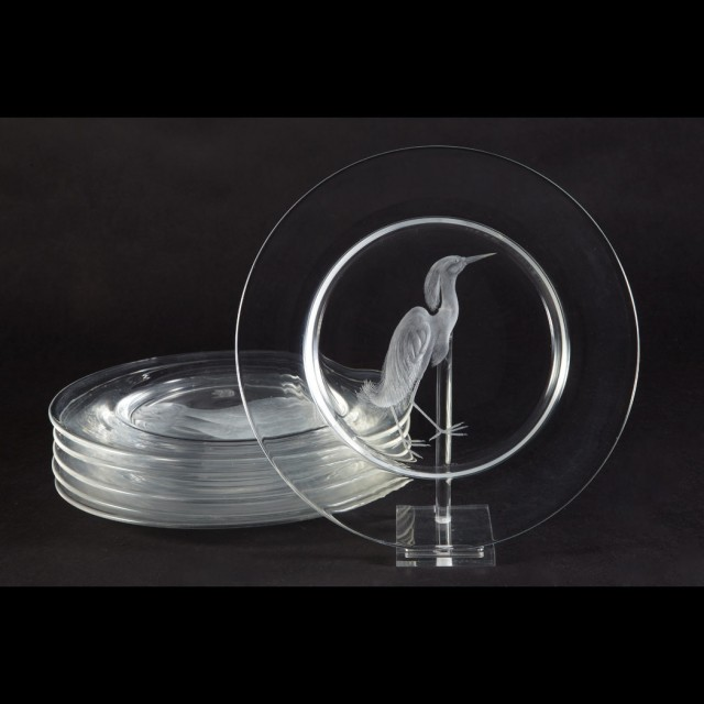 California Legacy Plates >> Steuben Glass Works: A Legacy of Beauty and Utility ...