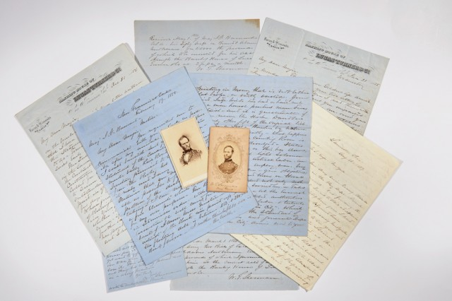 Approximately Fifty Autograph Letters Signed from William Tecumseh Sherman,