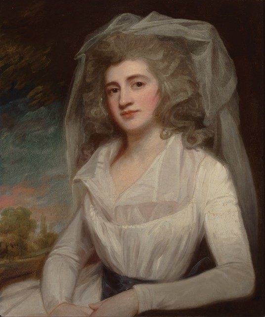George Romney, Portrait of Miss Mary Perryn, later Mrs. Hatfield. Auction May 24, 2017 / Lot 65
