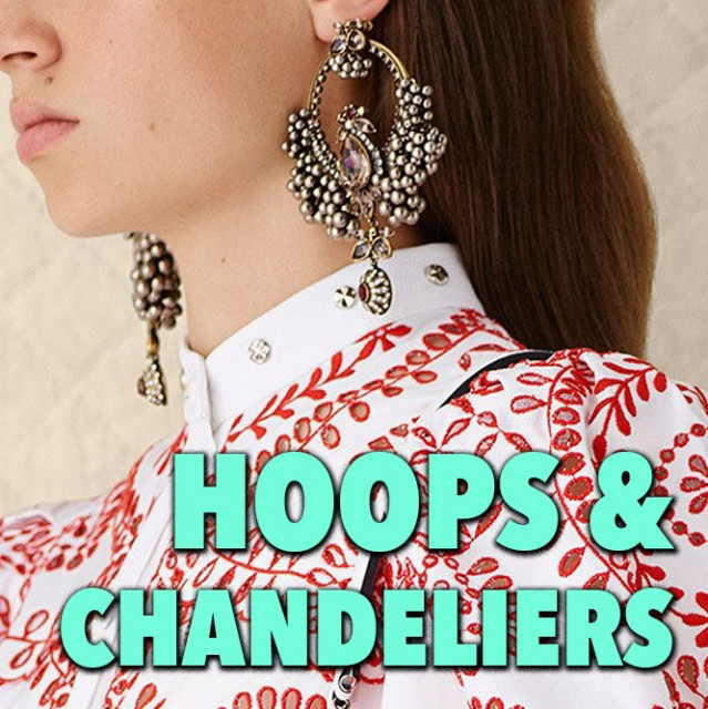 Hoops and Chandeliers