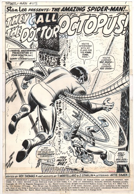 The Amazing Spider-Man / Artist: John Romita