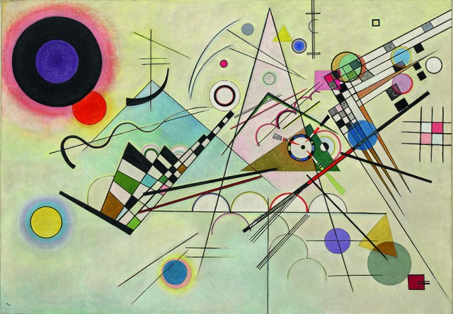 Vasily Kandinsky Composition 8 (Komposition 8), July 1923 Oil on canvas, 140 x 201 cm Solomon R. Guggenheim Museum, New York, Solomon R. Guggenheim Founding Collection, By gift, 1937 © 2017 Artists Rights Society (ARS), New York/ADAGP, Paris