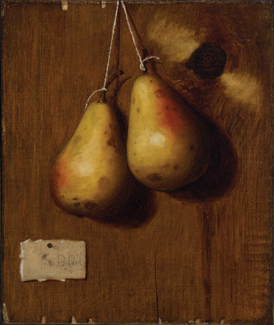 De Scott Evans (1847-1898), Still Life with Apples and Still Life with Pears: A Pair. Est. $15,000-25,000. Lot 65. Auction Oct 4