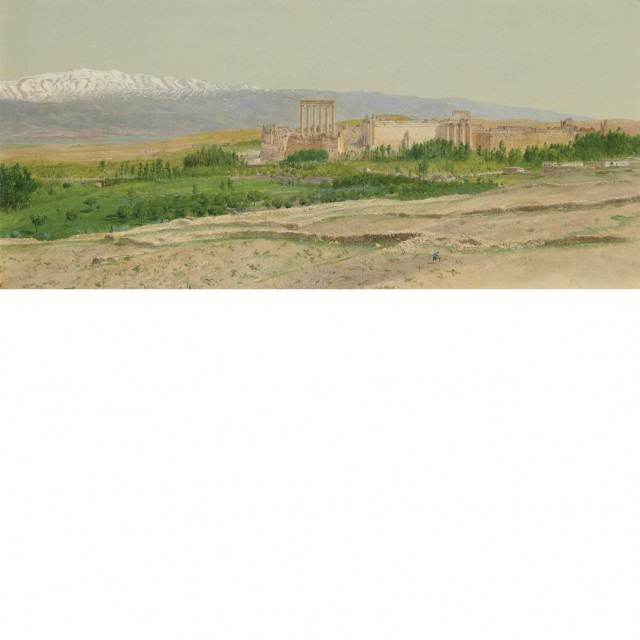 Frederic Edwin Church (1826-1900), View of Baalbek, circa 1868. Sold for $535,000