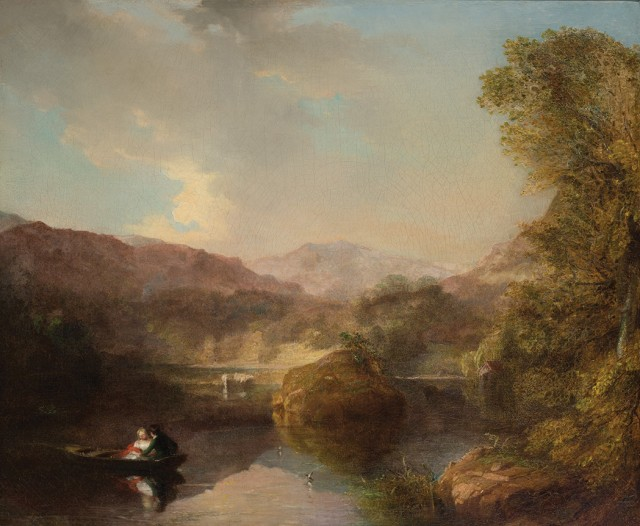 Henry Inman (1801-1846), Rydal Water, 1844. Est. $1,000-2,500. Lot 81. Auction Oct 4
