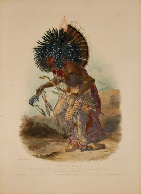 KARL BODMER, Group of 80 plates from the atlas of Prince Maximilian's Travels in the Interior of North America. 1839-43. Est. $40,000-60,000.
