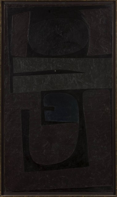 Will Barnet, Dark Image, 1960. Est. $30,000-50,000. Lot 126. Auction Nov 15.