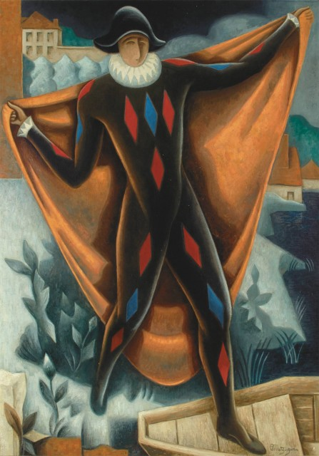 Jean Metzinger, Arlequin. Est. $150,000-250,000. Lot 17. Auction Nov 15.