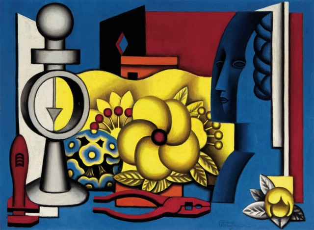 Jean Metzinger,  Nature Morte, circa 1929. Est. $80,000-120,000. Lot 18. Auction Nov 15.