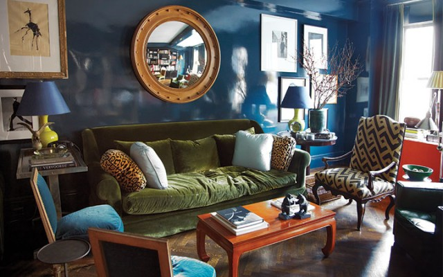 An Apartment Decorated by Miles Redd