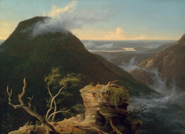View of the Round-Top in the Catskill Mountains (Sunny Morning on the Hudson), 1827.