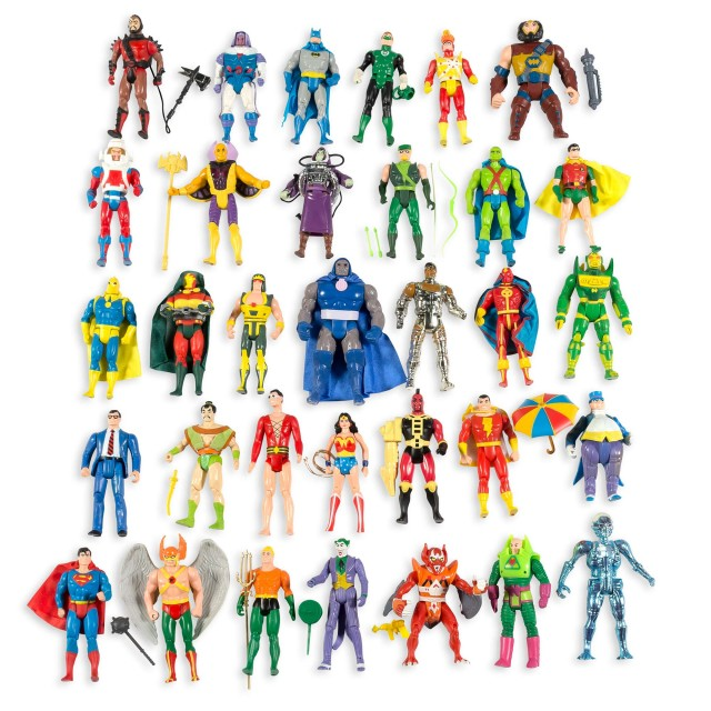 Kenner Toys, Super Powers action figure collection. Lot 13
