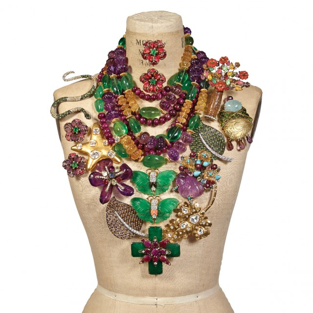 Fashion Jewelry by Iradj Moini and Kenneth J. Lane. Auction May 23