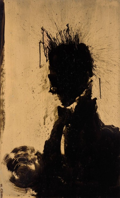 Richard Hambleton, Shadow Portrait, 1999. Est. $30,000-50,000. Lot 85. Auction May 9
