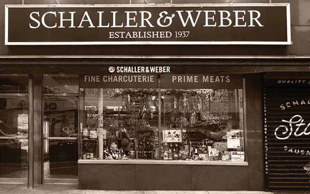 Schaller and Weber on Manhattan's Upper East Side