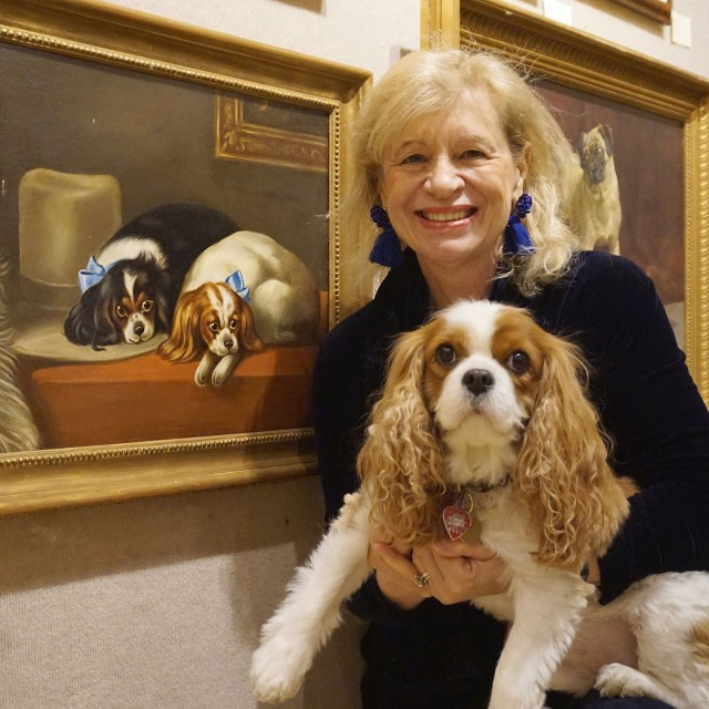 Dogs in Art event co-hosted with ARF