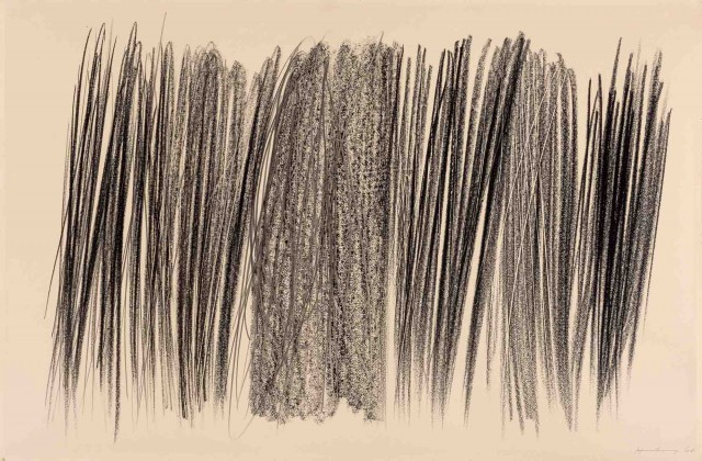 Hans Hartung (1904-1989), P1960-48, 1960. Lot 2032. Auction May 14, 2019