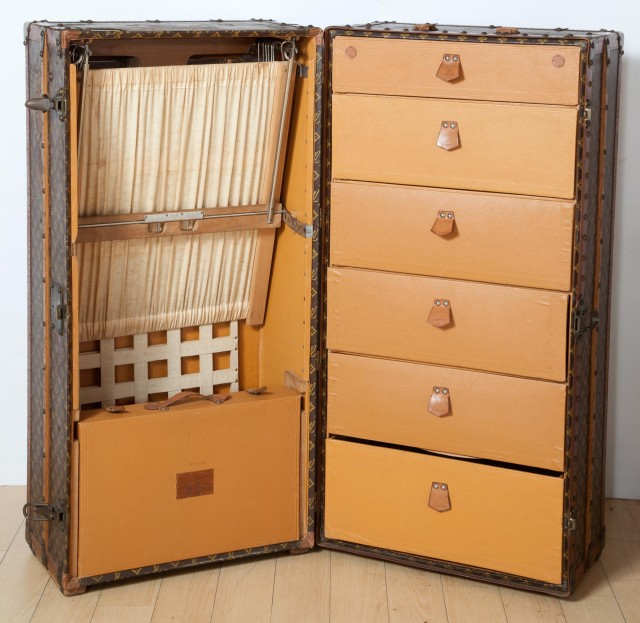 Louis Vuitton Grand Wardrobe, Circa 1920-1930. Auction June 26.