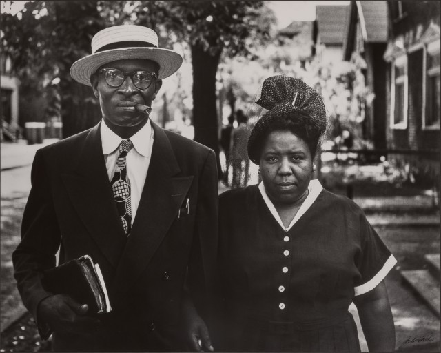 Gordon Parks (1912-2006), Sunday Morning, 1947.  Est. $1,000-1,500. Lot 110. Photographs. Auction June 29.