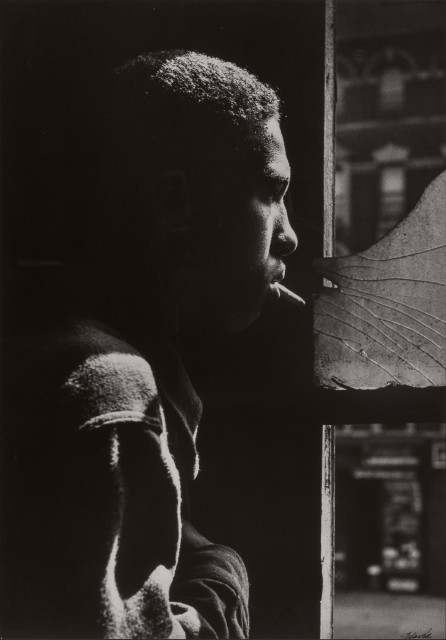 Gordon Parks (1912-2006), Red Jackson, Harlem, New York, 1948. Est. $1,500-2,500. Lot 113. Photographs. Auction June 29.