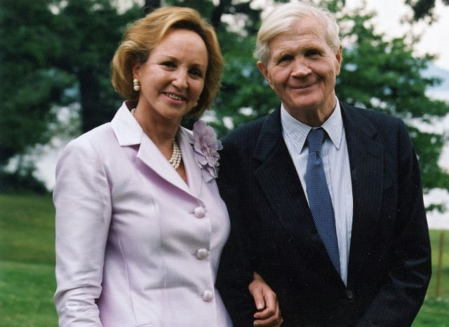 Ambassador and Mrs. Evan G. Galbraith