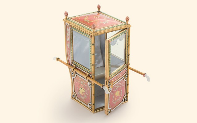 Sedan Chair, Fabergé, St. Petersburg, 1899–1903