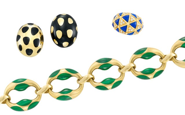Inlaid Jewelry by Angela Cummings, Tiffany & Co. and Van Cleef & Arpels