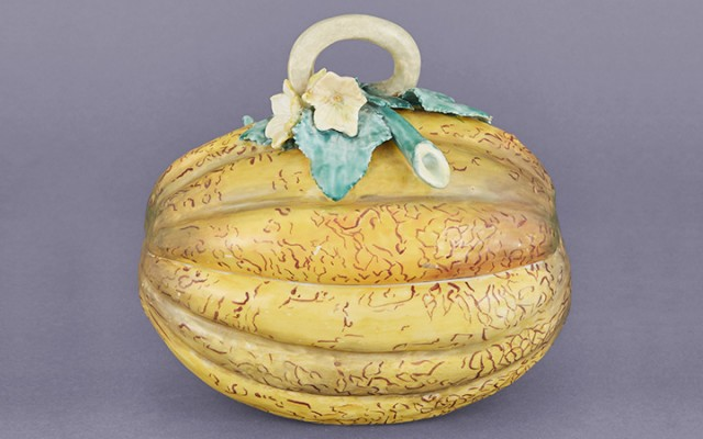 Chelsea Porcelain Melon-Form Tureen and Cover