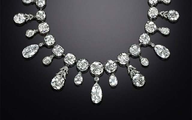 The Napoleon diamond necklace