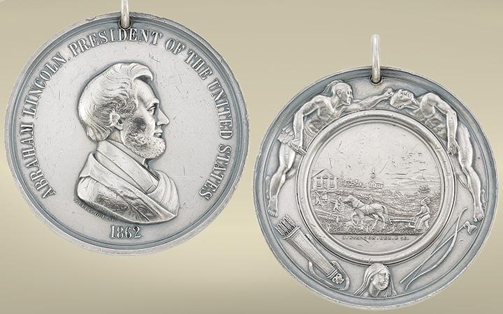 Abraham Lincoln Silver Peace Medal