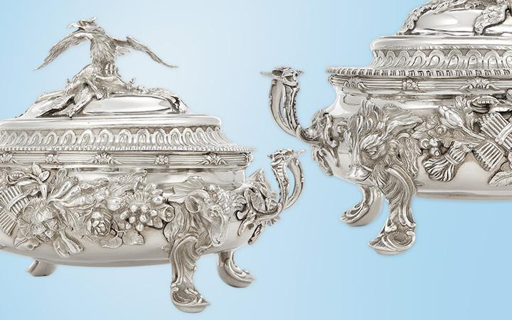 Georgian SIlver Covered Tureens