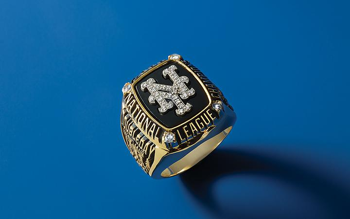 Nelson Doubleday Mets Championship Ring 2000 Subway Series