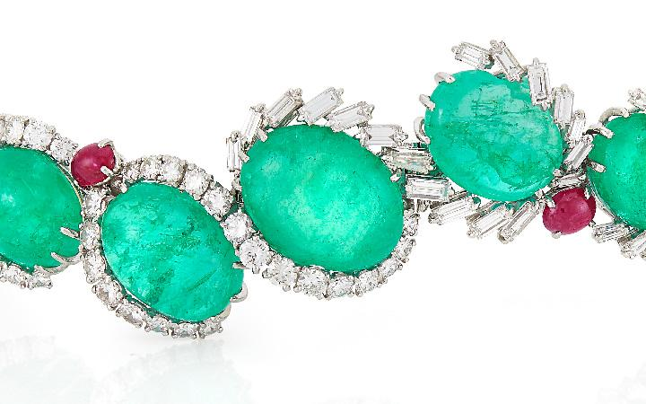 Cartier Emerald suite