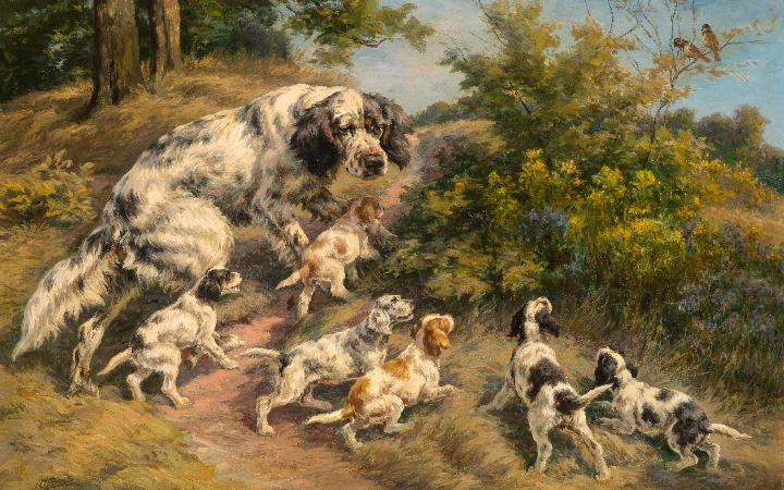 Auction of Dogs in Art® including The Sporting Art Collection of James W. Smith on Wednesday, February 13, 2019