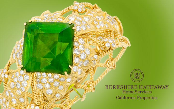 Gold, Diamond and Peridot Bracelet, David Webb