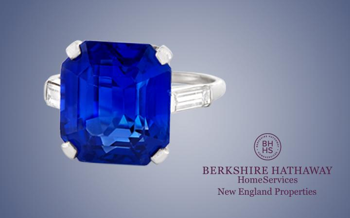 Burma Sapphire and Diamond Ring
