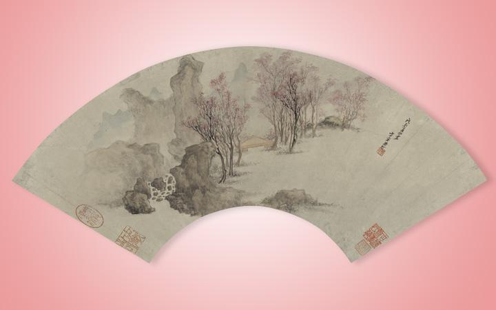 Ming Fan Paintings